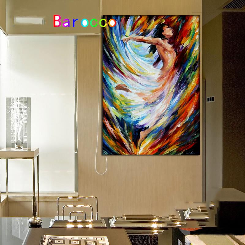 Modern Abstract Oil Painting Hand Painted Nude Paintings For Men On Canvas Wall Art Pictures For Home Decoration