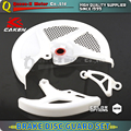 Front And Rear Brake Disc Guard Protection Cover For CRF CRF250R 10-12 CRF450R 09-12 Motorcycle Enduro Supermoto Dirt Bike MX