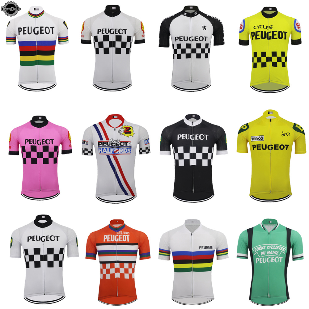 Classic MEN Cycling Jersey Short Sleeved Riding Multiple Colors Available Racing Bicycle Clothes Top Quality Cycling Clothing