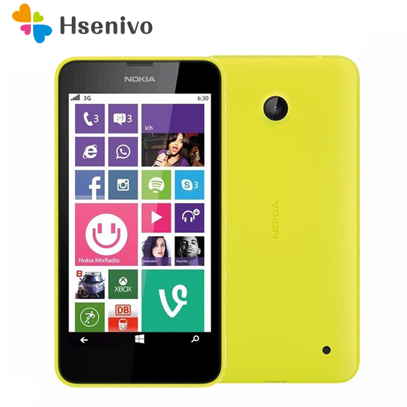 635 Original Nokia Lumia 635 Windows Phone 4.5 Quad Core 1.2GHz 8G ROM 5.0MP WIFI GPS Unlocked 4G LTE Smartphone free shipping image