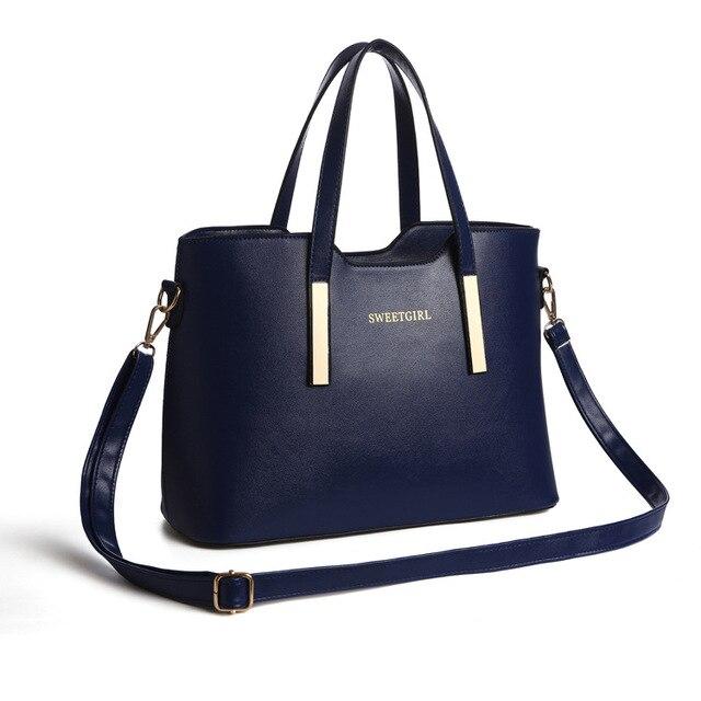 100% Genuine leather Women handbags women famous brands 2016 new female stereotypes fashion handbag Crossbody Shoulder Handbag