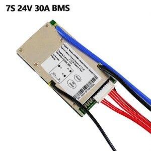 Image 2 - ליתיום BMS 7S 24V 15A, 20A ו 30A BMS עבור 24V ליתיום יון סוללה עם פונקצית איזון