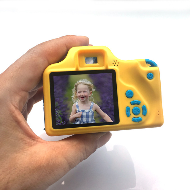 NEW Kids Digital Camera 2.0 Inch Screen HD Video DV Children Mini Cameras with Built-in Li-ion battery gift for Boy girl DC268