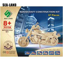 A Toys For Children 3d Puzzle Diy Wooden Motorcycle HD I Kids Also Suitable Adult Game Gift Of High Quality Wood