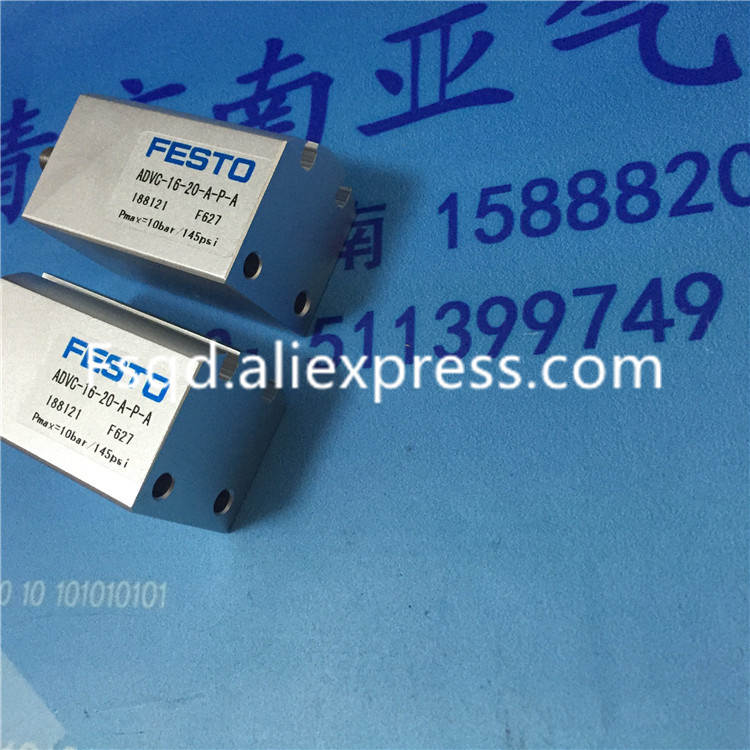 ADVC-16-5-A-P-A ADVC-16-10-A-P-A ADVC-16-15-A-P-A ADVC-16-20-A-P-A ADVC-16-25-A-P-A pneumatic cylinder FESTO dhl ems new festo short stroke cylinder advc 12 10 a p a for industry use a1