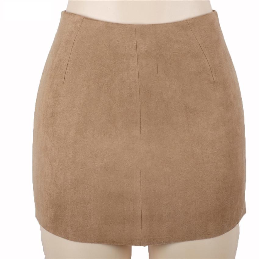 HTB1KOrkQXXXXXcoapXXq6xXFXXXt - FREE SHIPPING Women Suede Mini Skirt JKP198