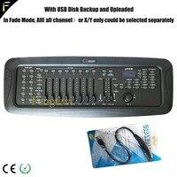 DJ/Disco 240 CHS Console Support USB Backup/Upload DMX512 240 Controller via Joystick Stage Light Scene Controller