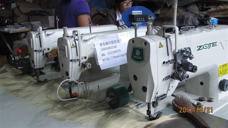 ZOJE Three Head Weft Hair Sewing Machine Three Head Machine For Best Hair Sewing Machine