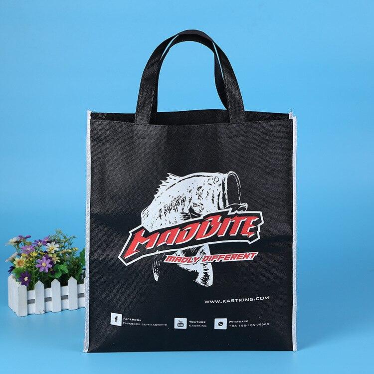 Customized Silkscreen Printing Handle Style Recycle Non Woven Bag+ ...