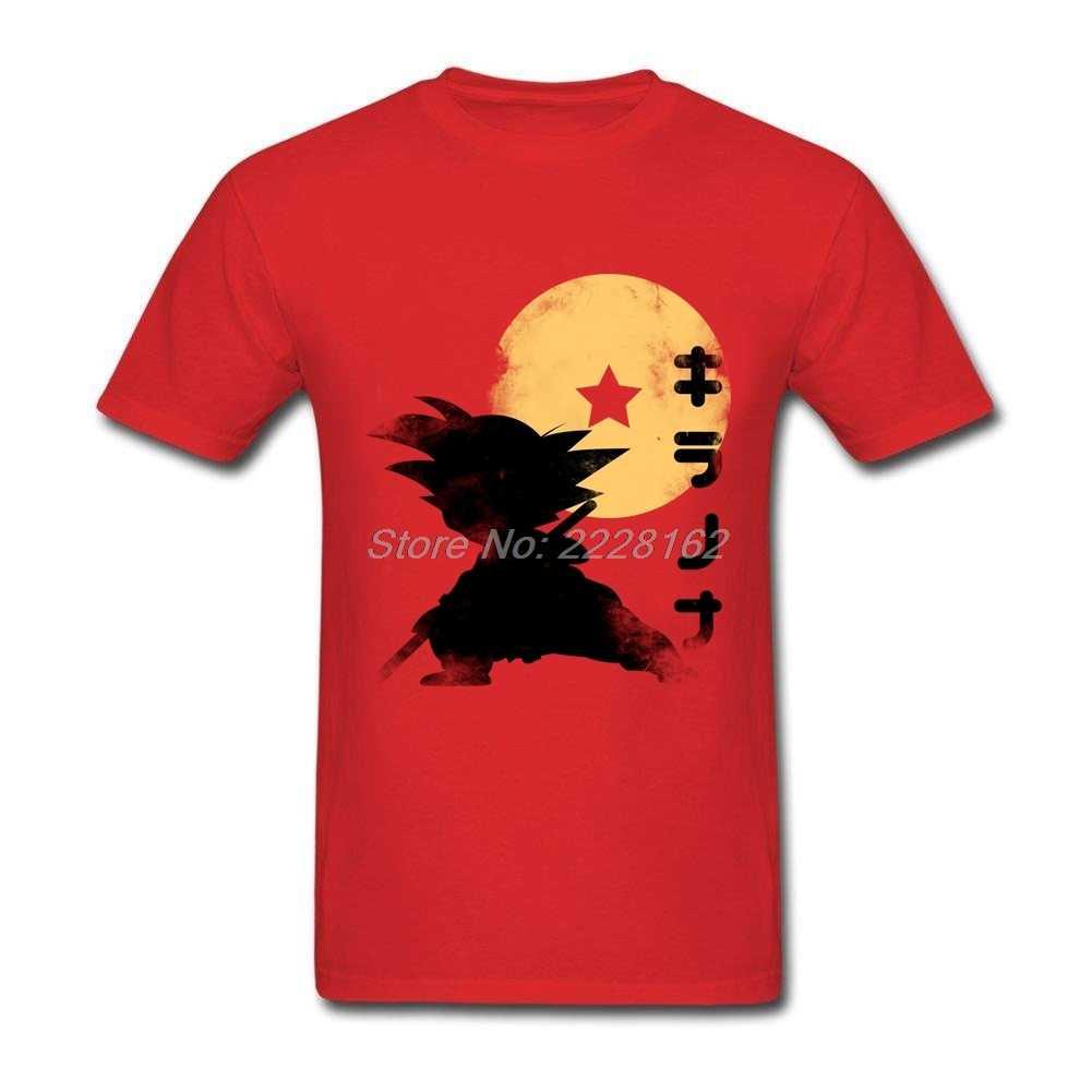 Создатель Гоку Аниме футболки Для мужчин Dragon Ball футболка Костюмы Mujer Летние футболки для подростков