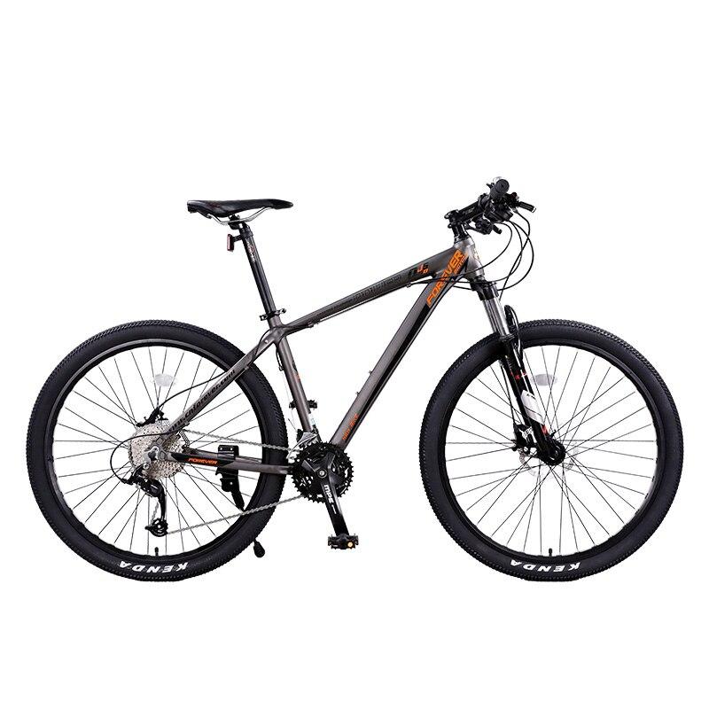 Haute qualité 27.5 pouces VTT 33 vitesses Variable vitesse double freins à disque vélo pour hommes femmes Cross country Absorption des chocs