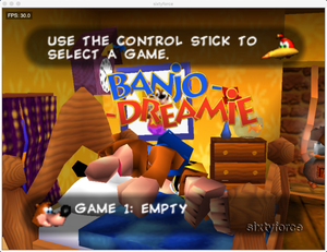 Image 2 - لعبة 64bit ** بانجو دريمي (نسخة الولايات المتحدة الأمريكية!! اللغة الإنجليزية!!)