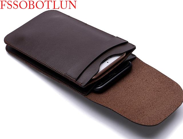Dupla caso manga saco pendurado bolsa de cintura de couro do telefone móvel para xiaomi redmi 3, note prime, mi note pro, mi3, mi 4 lte, nota 2