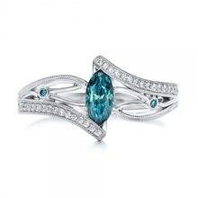 New Luxury Silver Zirconia Geometric Ring Womens Wedding Party Zircon Crystal 2019 Romantic Jewelry