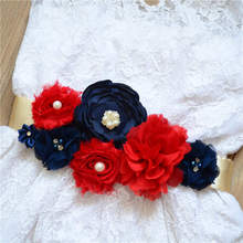 Buy Hot Selling, Elegant Fashion, Pure Handmade Flower Belt, , Pregnant Woman Flower Dress, Photography, Waist Seal. directly from merchant!