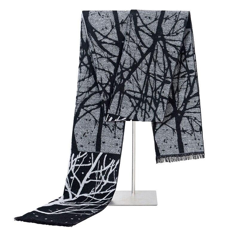 1Pc New Unisex Scarfs Classic Casual Printed Warm Scarve Men Women Imitation Silk Shawl Winter Male Wraps Ladies Scarves
