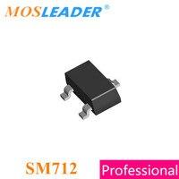 Mosleader sm712 sot23 3000 pces sm712.tct feita na china de alta qualidade