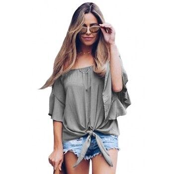 Women Summer Casual Cotton T-shirt