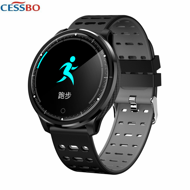 Real-Time Heart Rate Whole-Day Heart Rate Blood Pressure Blood Oxygen Measurement Activity Tracker Watch Phone  IP67 Waterproof