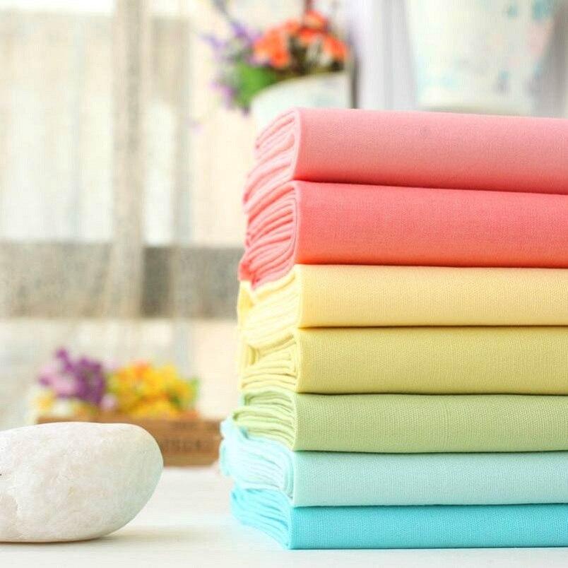 Arco iris de algodón telas tilda patchwork tela diy de costura del paño de algod