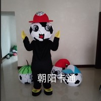 Football Mascot Costume for Adult Soccer Mascot Party Halloween Fancy Dress Carnival Purim Foot Ball Cosplay Suits