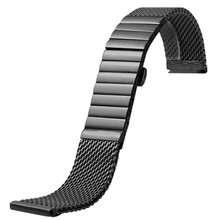 18 20 22 24 MM For IW Pilot Stainless Steel Time Walker Watchband Mesh Bracelet Strap Replacement Wrist Milan Watch Band все цены