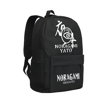 Zshop Japanese Anime Noragami Aragoto Backpack Cool YATO School Bag for  Boys High School Students Schoolbag Daypack Men 7a704e5cd2d1e