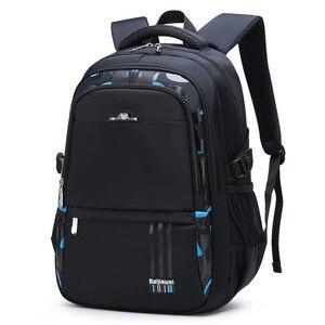 Image 1 - 2019 Children Orthopedics School Bags Kids Backpack In Primary Schoolbag For Girls Boys Waterproof Backpacks mochila infantil