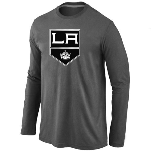 NHL Los Angeles Kings Big & Tall Logo D.Grey Long Sleeve T-Shirt