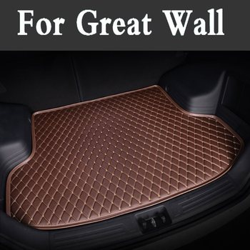 Custom Fit Luxury Pu Leather Car Trunk Mat Cargo Mat Car Styling For Great Wall Wingle5 M1 Wingle6 Wingle3 M2 Deer C30 M4 Ruv