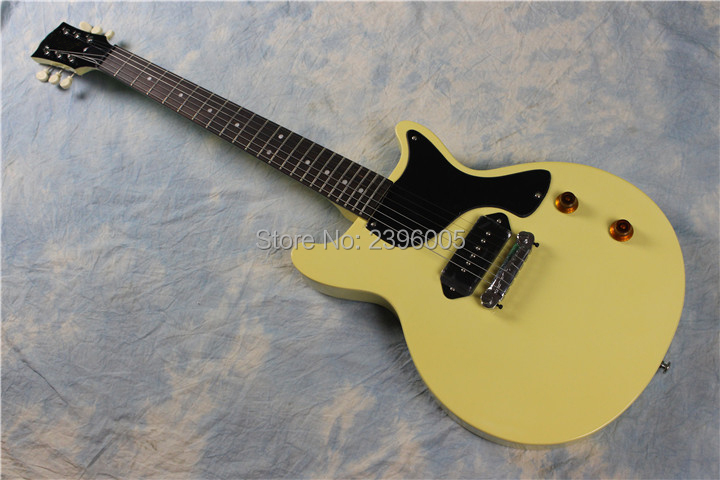 Custom shop 2012 Jr. Bellie hoe,LP junior electric guitar. high quality mahogany material real guitar picture,P90 pickups electric guitar musical instrument lp standard p90 hh pickups chrome parts no pickguard