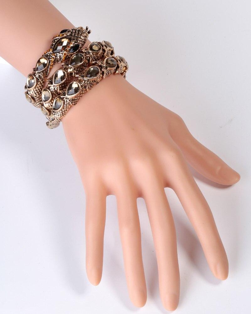 Bracelet manchette extensible