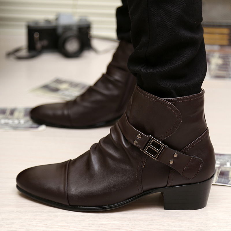 Aliexpress.com : Buy Hot Sale Men Shoes Autumn Winter Leather ...