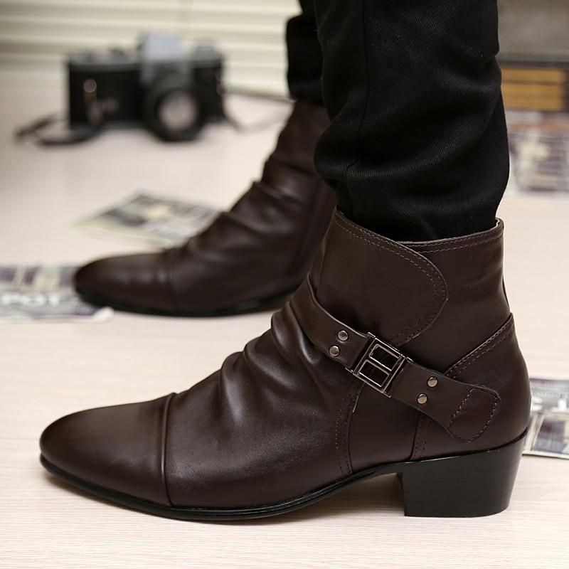Aliexpress.com : Buy Hot Sale Men Shoes Autumn Winter Leather ...