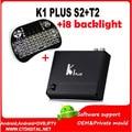k1 plus s2 t2 Amlogic S905 android dvb s2 satellite receiver Quad core 64-bit Support DVB-T2 DVB-S2 1G/8G 4K k1 plus dvb s2 t2