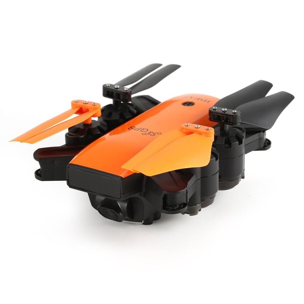 Le-idée IDEA7 2.4g RC Drone Pliable Quadcopter avec 720 p Grand Angle Wifi Caméra GPS Maintien D'altitude sans tête Un Retour Key