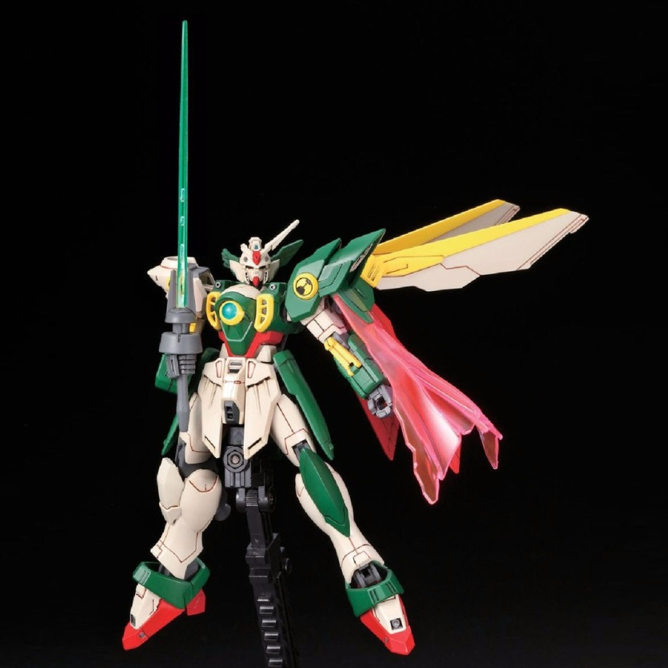 Image 4 - Anime Gaogao 13cm HG 1/144 Wing Gundam Fenice XXXG 01WF model hot kids toy action figuras assembled Phoenix Robot puzzle gift-in Action & Toy Figures from Toys & Hobbies