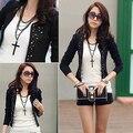 Women Fashion Slim Fit Long Sleeve Career Coat Outwear Jacket Blazer Blouse smt 87