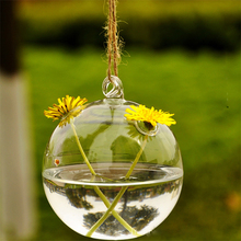 Cute Glass Angel Shape Flower Plant Hanging Vase Hydroponic Container