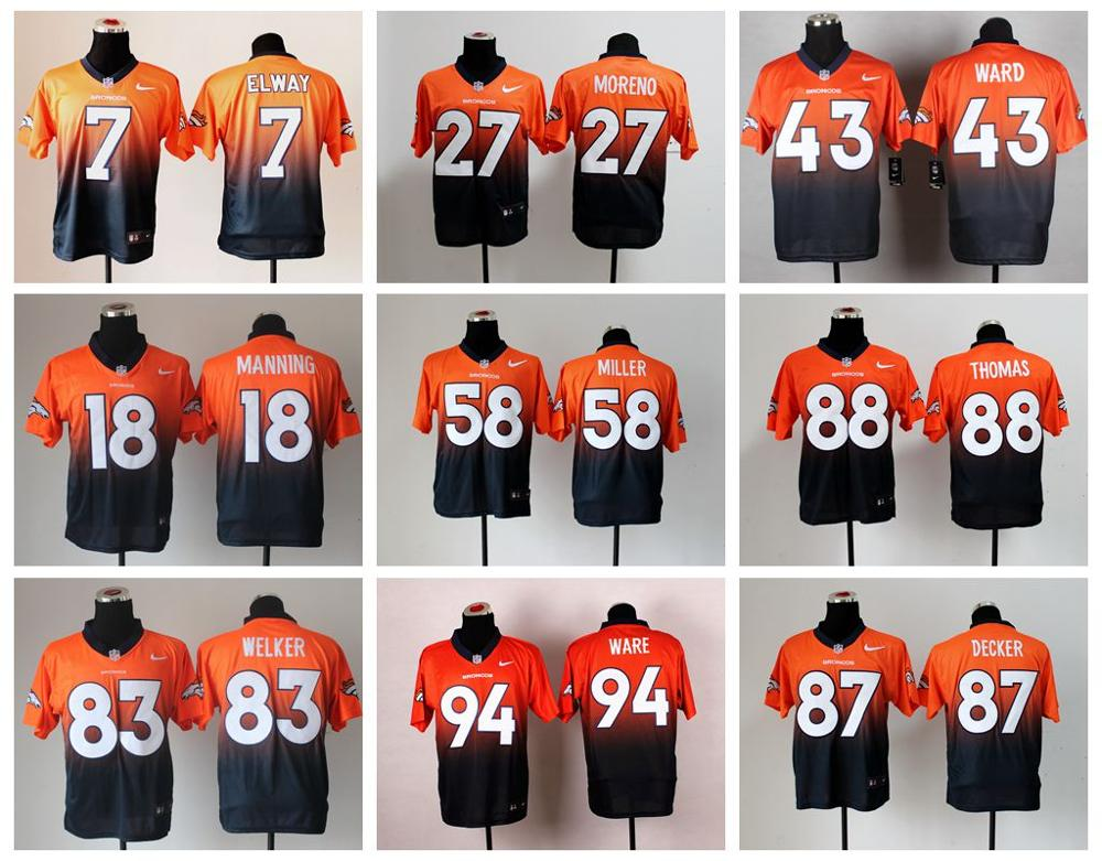Popular Denver Jersey-Buy Cheap Denver Jersey lots from China ...