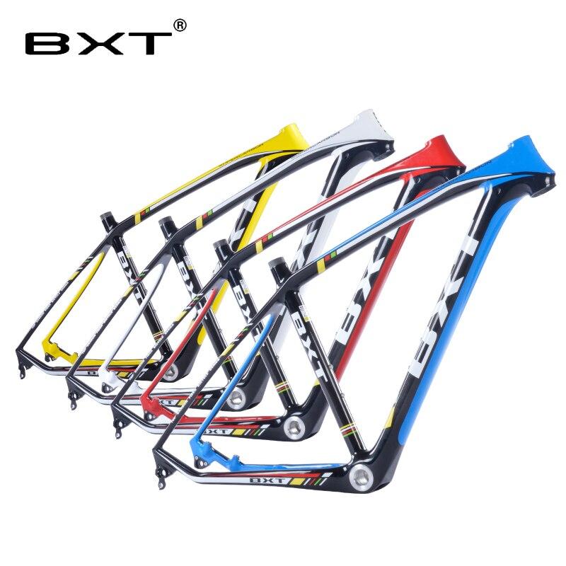 2018 brand new BXT mtb telaio in carbonio 29er 3 k mountain bike telaio 17.5 ''19'' bicicletas mountain bike 29 spedizione gratuita