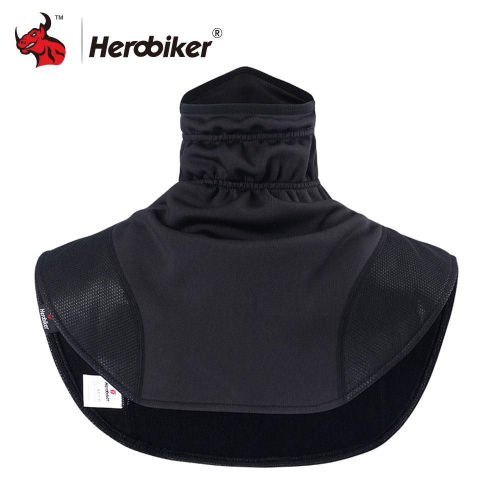 HEROBIKER Motorrad Thermische Sturmhauben Schal Motorrad Headwear Neck Fleece Caps Schal Balaclava Winddicht Warme Moto Maske