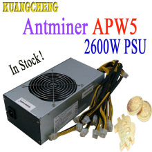 New Antminer BITMAIN  APW5 2600W power supply suitable for antminer miner S9 Z9 T9 DR3 L3+ Innosilicon A9 A8 D9 Baikal G28 BK-X