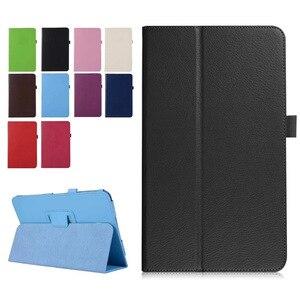 For Lenovo Tab 4 8 Plus TB-8704X Litchi Leather Case for Lenovo TAB4 8 Plus TB-8704F TB-8704N 8.0