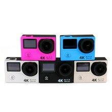 กีฬาผาดโผน4พันอัลตร้าHDมือถือกล้องไร้สายควบคุมระยะไกล42 + Dual 1080p170dกันน้ำมืออาชีพกล้องสนับสนุนWiFI