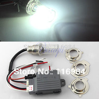 Hoge intensiteit ontlading Motorrijwiel Hid Lights Kit DC12V 35 W 6000 K H6 Hi/Low Xenon Lampen
