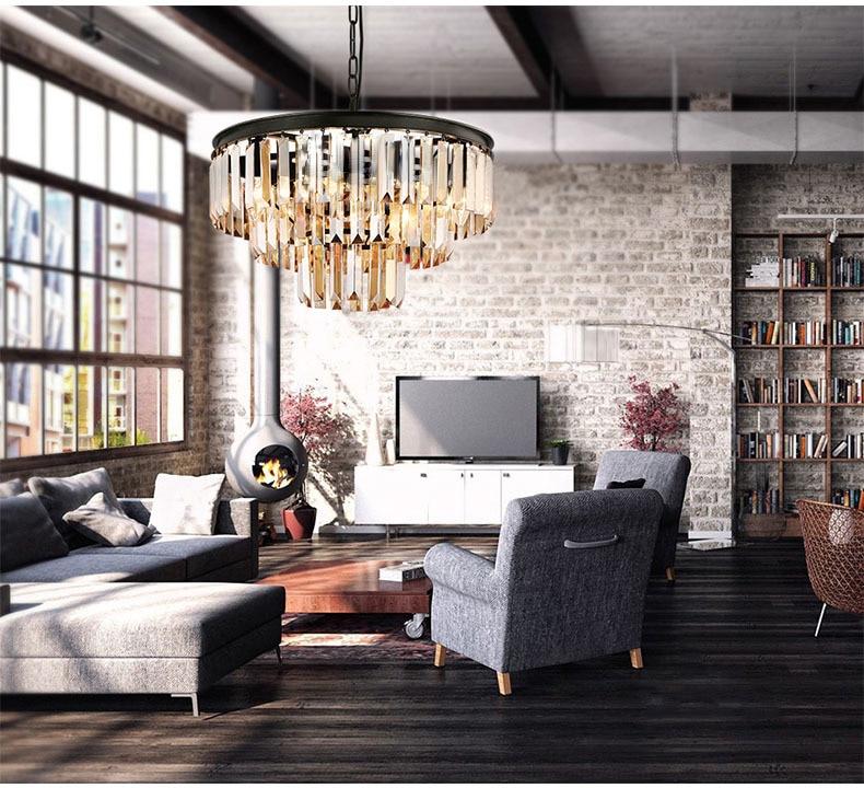 Superb Crystal Chandelier Designer Restaurant Bar Shop Bedroom Living Room  Decorative Lighting E14 9u002617u002625 Lights(China Part 12