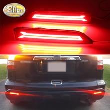 цена на For Honda CRV CR-V 2007 2008 2009 BRV BR-V 2015 2016 Multi-function LED Rear Bumper Light Rear Brake Light Reflector Lights