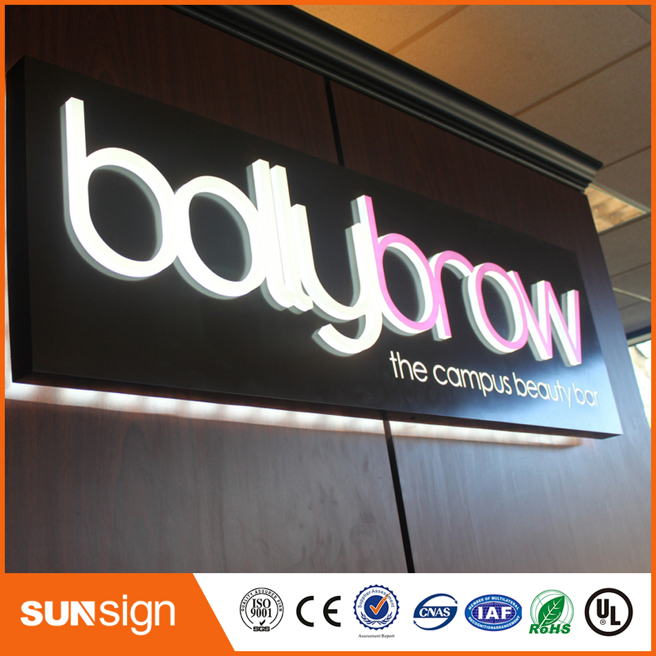 Outdoor Acrylic Advertising Letter Signs For Led Sign