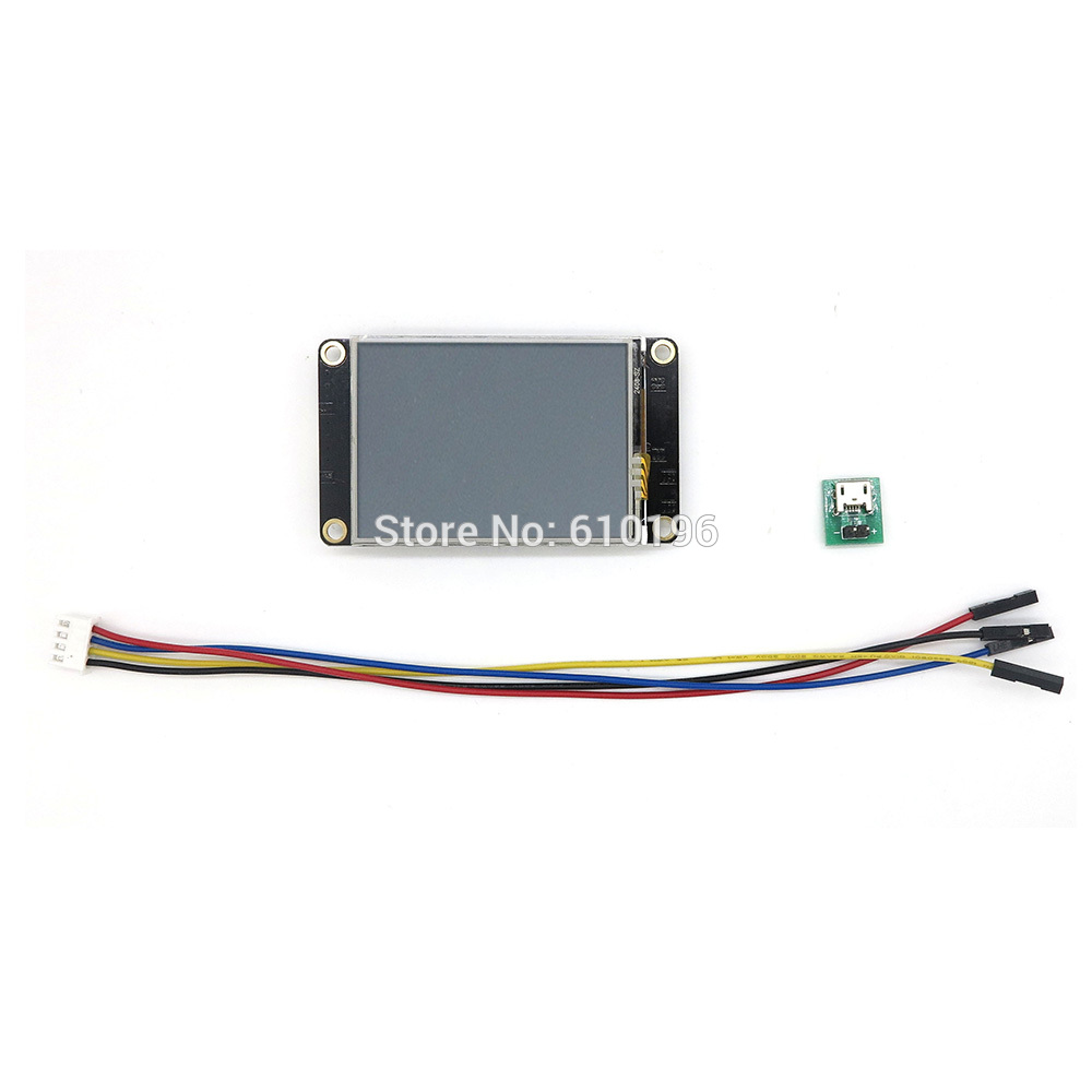 hodinky nextion - Nextion Enhanced 2.4 HMI Intelligent Smart USART UART Serial TFT Touch Display Module for Arduino Raspberry Pi
